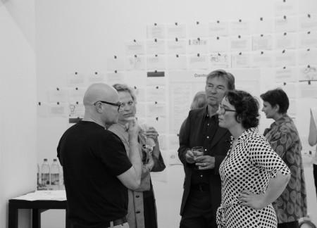 Oswald Schröder (EPO), Frauke Liesenborghs (GCN), Peter Ludwig, Isabelle Krötsch bei DaDeRa Salon-Woche