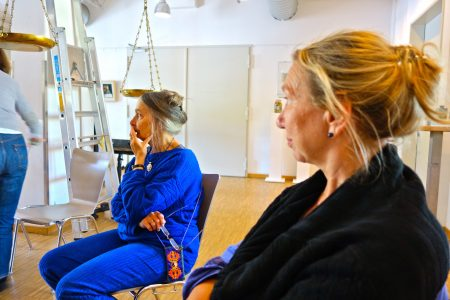 Despina Olbrich und Sabine Frick Photo: Sylvie Banuls