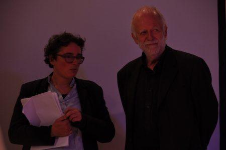 Claus Biegert und Isabelle Krötsch am ersten Abend des DaDeRa 2016 Photo: Tadashi Abe